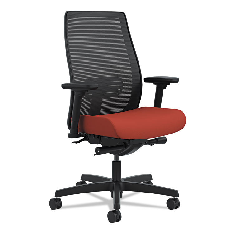 Endorse Mesh Mid-Back Work Chair, Poppy/black