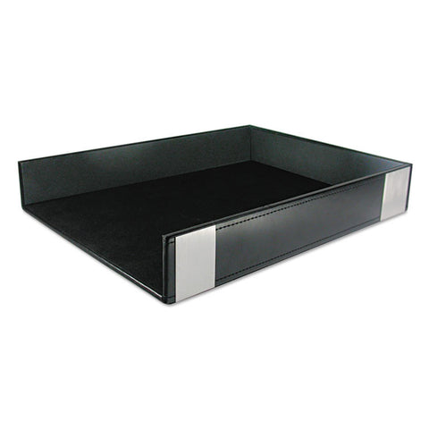 Architect Line Letter Tray, Black/silver