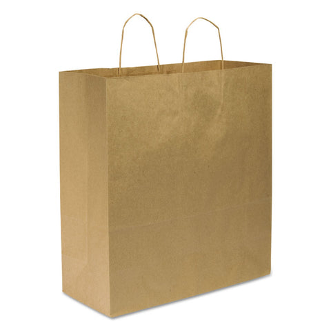 #70 Paper Shopping Bag, 70lb Kraft, Heavy-Duty 18 X 7 X 18 3/4, 200 Bags