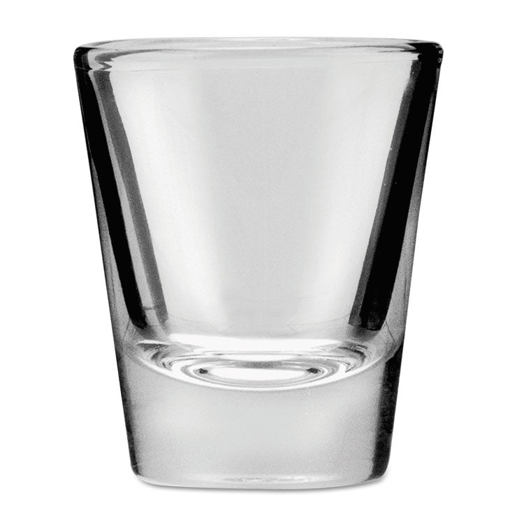 Whiskey Shot Glass, 1 1/2 Oz, Clear