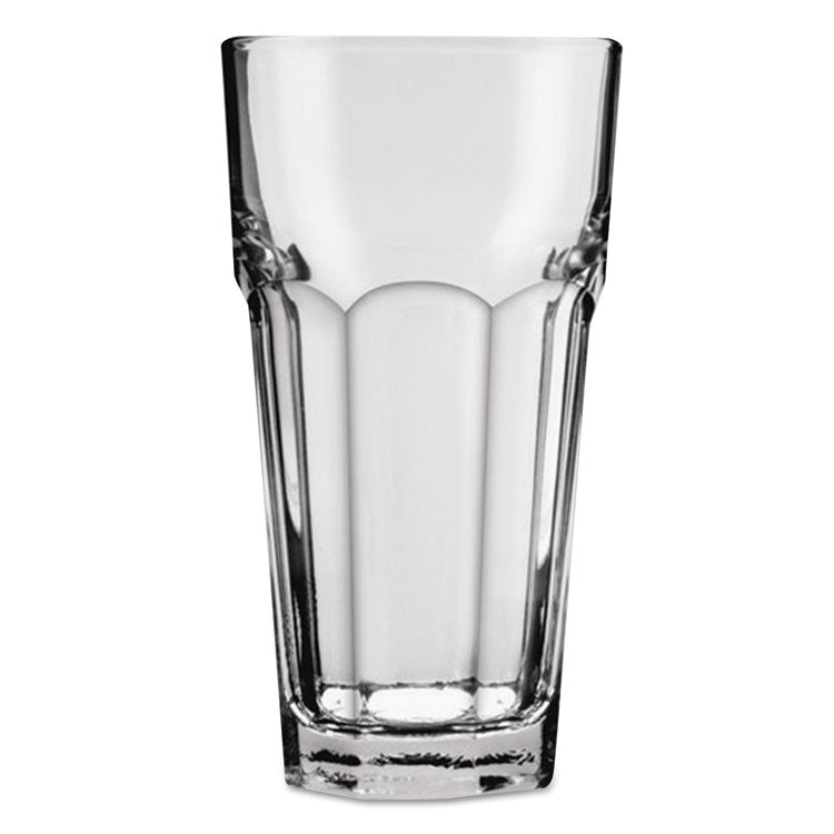 New Orleans Cooler Glass, Tall, 12 Oz, Clear