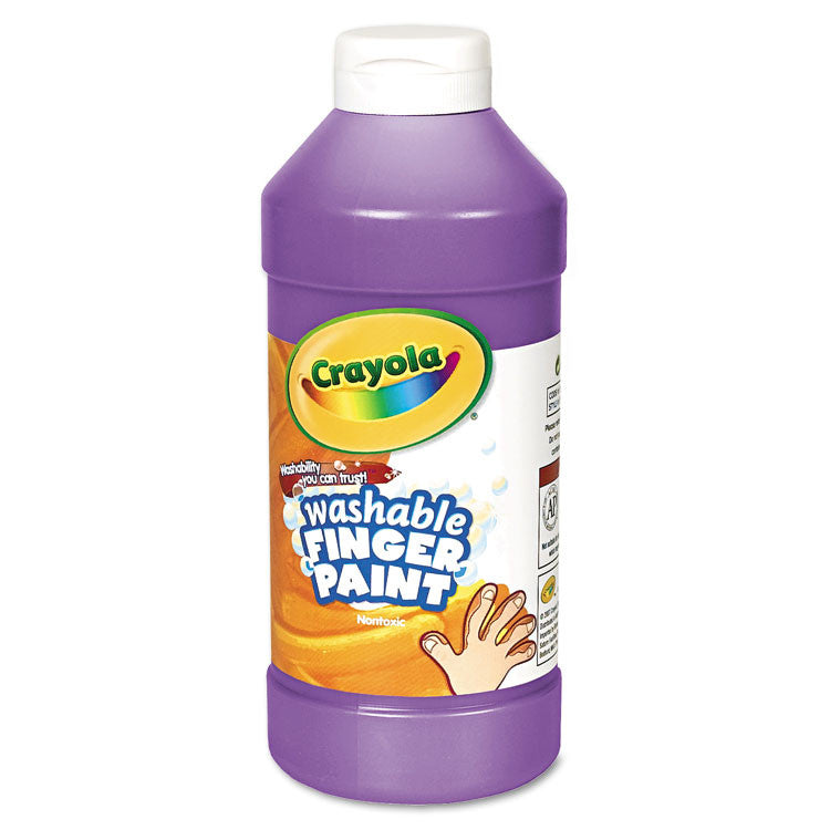 Washable Fingerpaint, Violet, 16 Oz