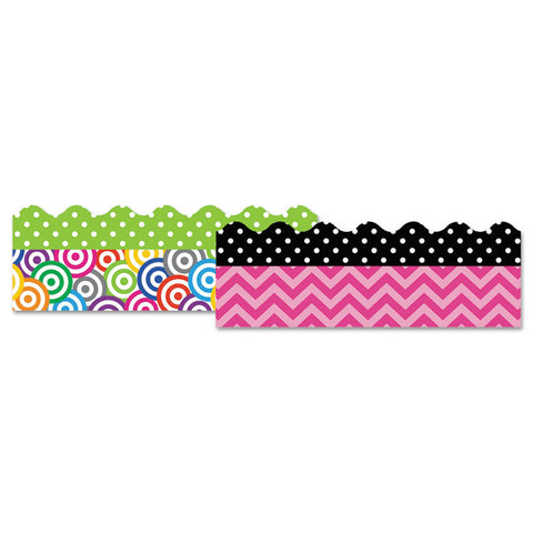 "Border Trim Set, 3"" X 35"", Assorted Colors"