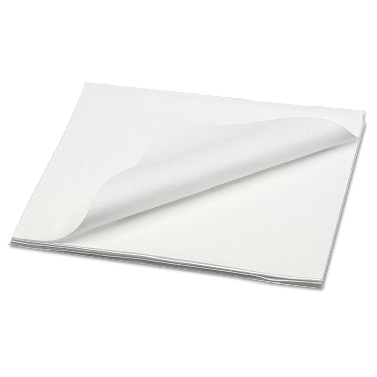 Hyworx Heavy Duty Nonwoven Towels, 13 X 15, Spunlace, White, Flat, 300/carton