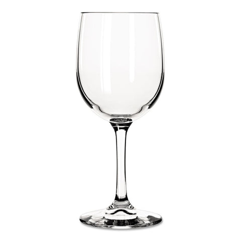 Bristol Valley Wine Glasses, White Wine, 8 1/2 Oz, Clear, 24/carton