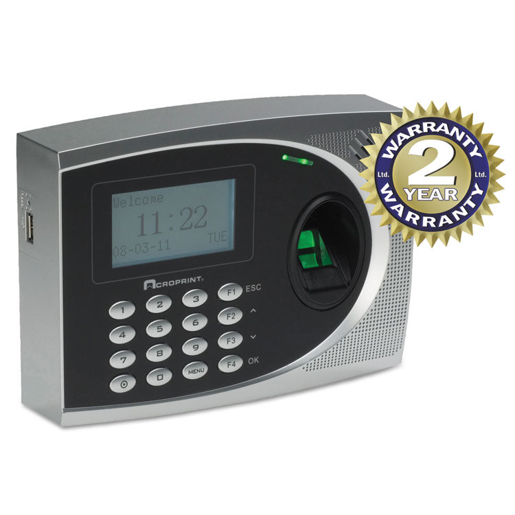Timeqplus Biometric Time And Attendance System, Automated