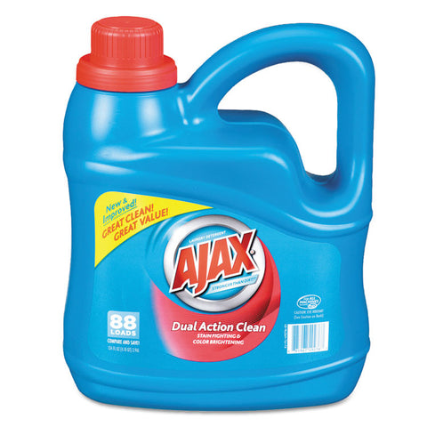 Dual Action Clean Liquid Laundry Detergent, Fresh Scent, 134 Oz Bottle,