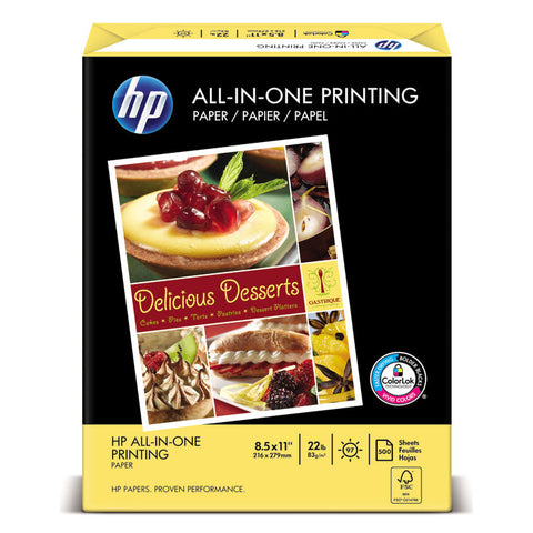 ALL-IN-ONE22 PAPER, 97 BRIGHT, 22LB, LETTER, WHITE, 500 SHEETS/REAM