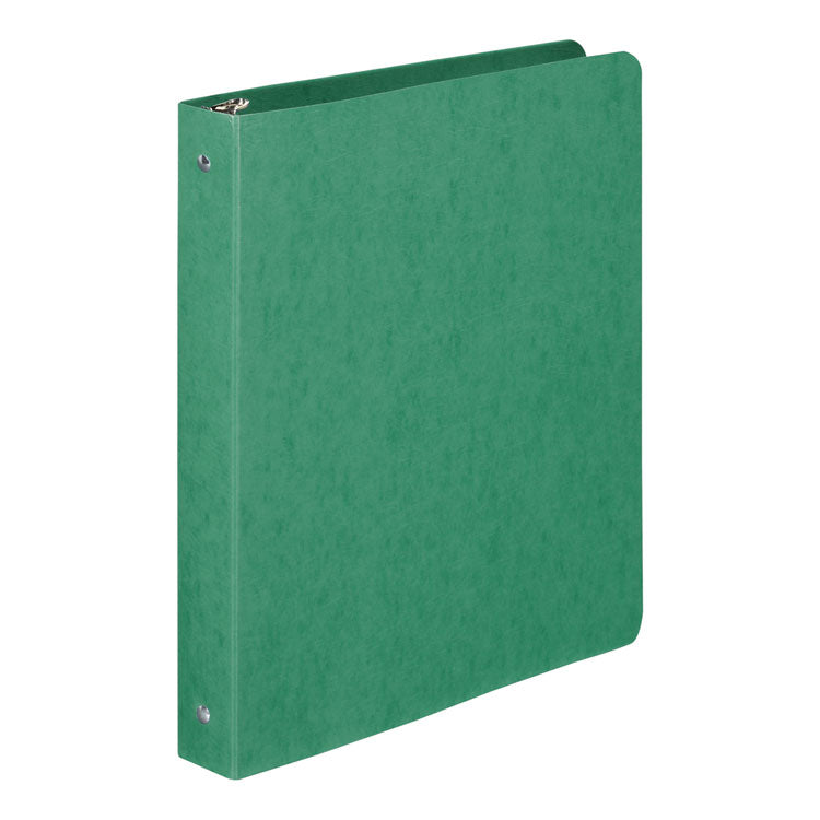 "Presstex Round Ring Binder, 1"" Cap, Dark Green"