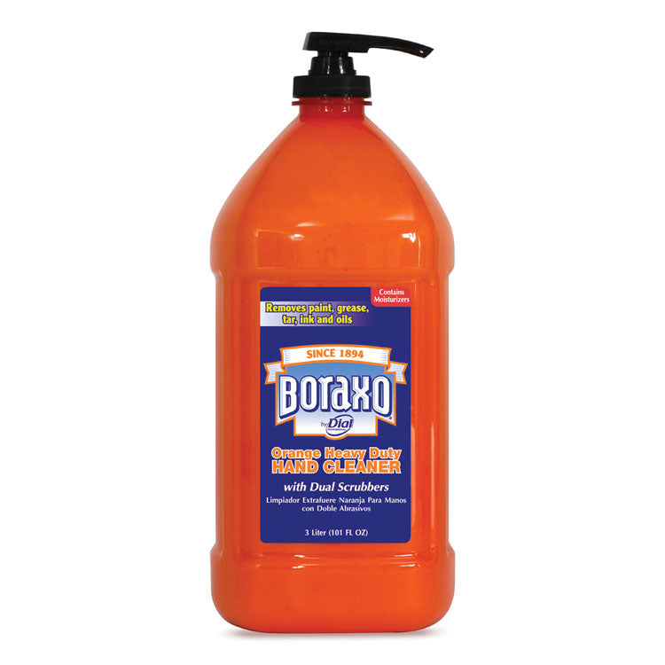 Orange Heavy Duty Hand Cleaner, 3 Liter Pump Bottle