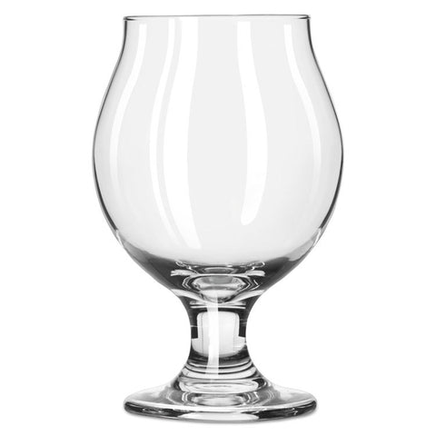 Belgian Beer Glasses, 13 Oz, Clear, 12/carton