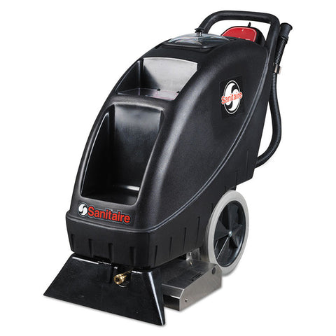 Model Sc6095 Upright Carpet Cleaner, 9 Gal Recovery Tank, 100 Psi, Black