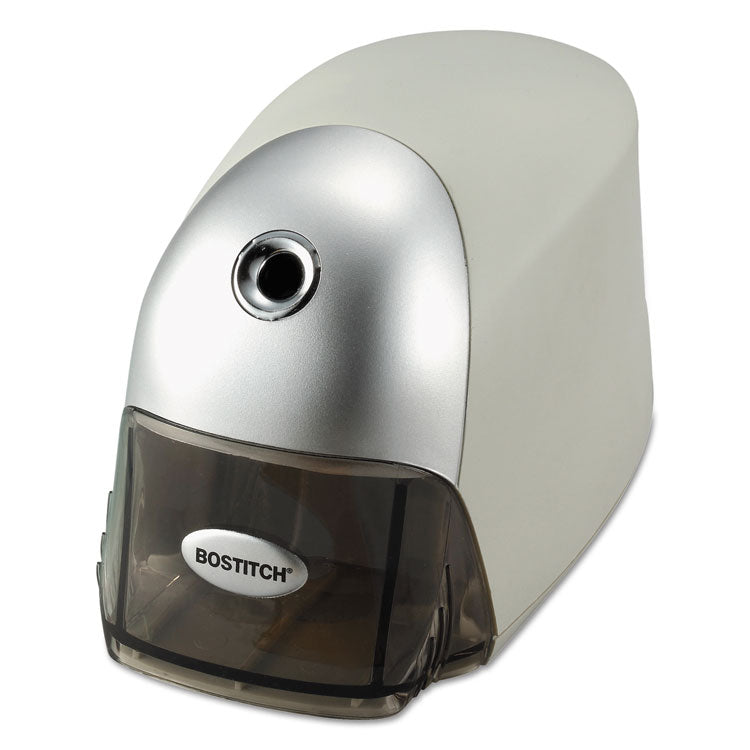 Quietsharp Executive Electric Pencil Sharpener, Gray