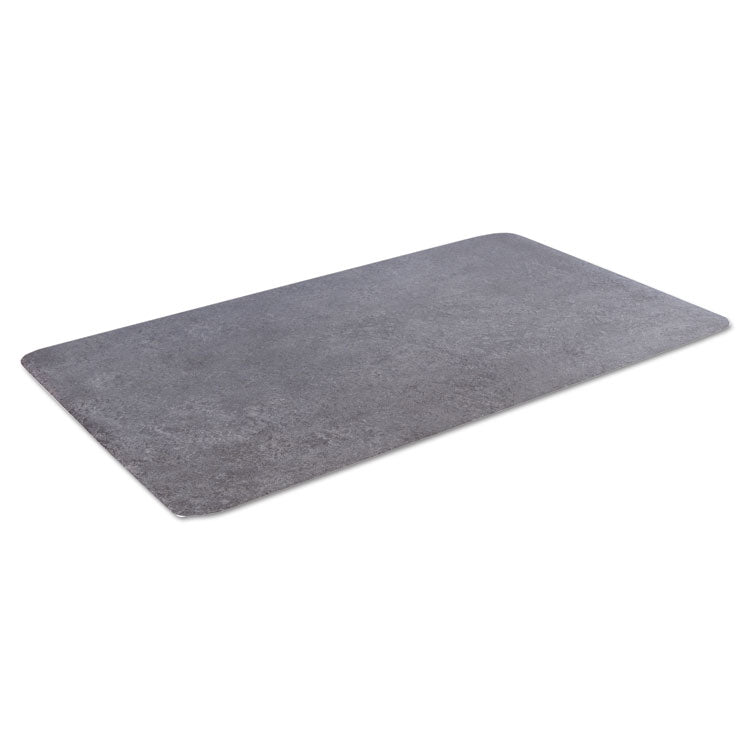 Workers-Delight Slate Standard Anti-Fatigue Mat, 36 X 60, Dark Gray