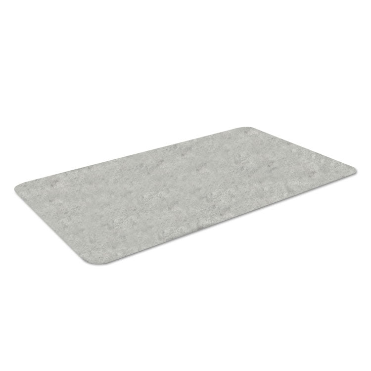 Workers-Delight Slate Standard Anti-Fatigue Mat, 36 X 60, Light Gray