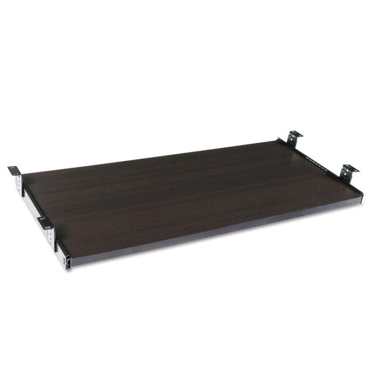Alera Sedina Series Underdesk Keyboard/mouse Shelf, 30w X 14d, Espresso