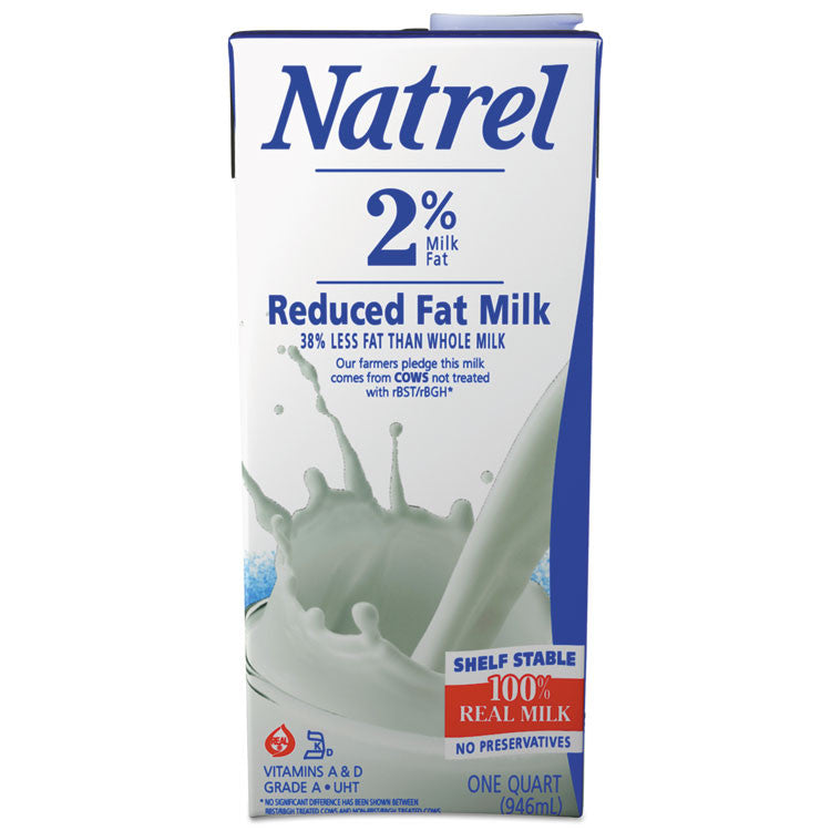 Milk, 2% Reduced Fat Milk, 32 Oz Resealable Bottle
