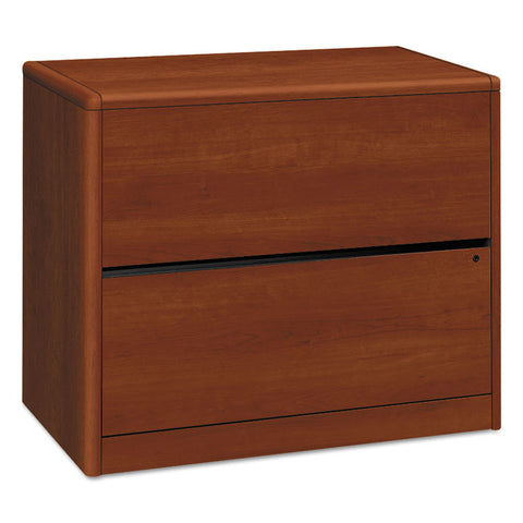 10700 Series Two Drawer Lateral File, 36w X 20d X 29 1/2h, Cognac
