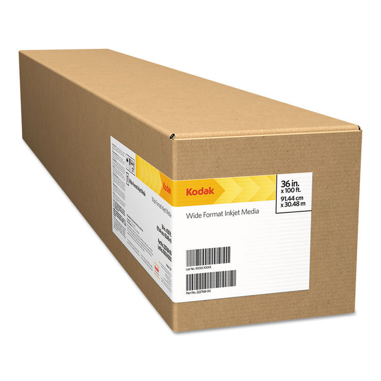 "Premium Photo Paper, 10mil, Solvent, Glossy, 36"" X 100 Ft"