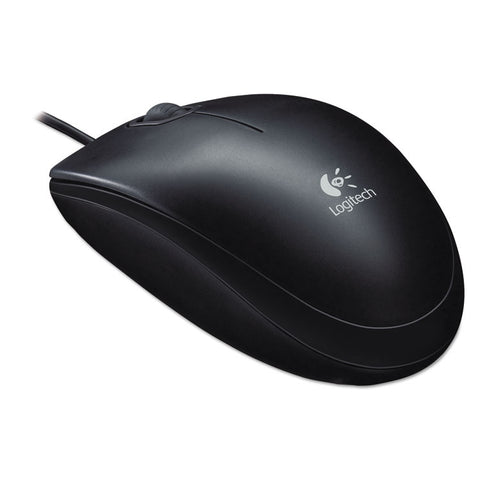 B100 Optical Usb Mouse, Black