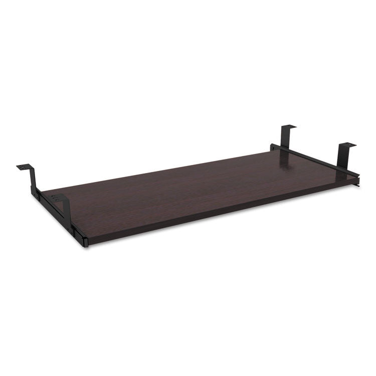 Alera Valencia Series Underdesk Keyboard/mouse Shelf, 28w X 12d, Espresso