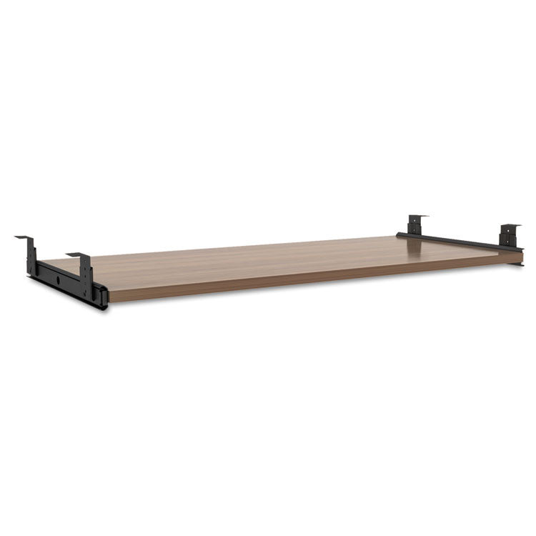 Alera Sedina Series Underdesk Keyboard/mouse Shelf, 30w X 14d, Modern Walnut