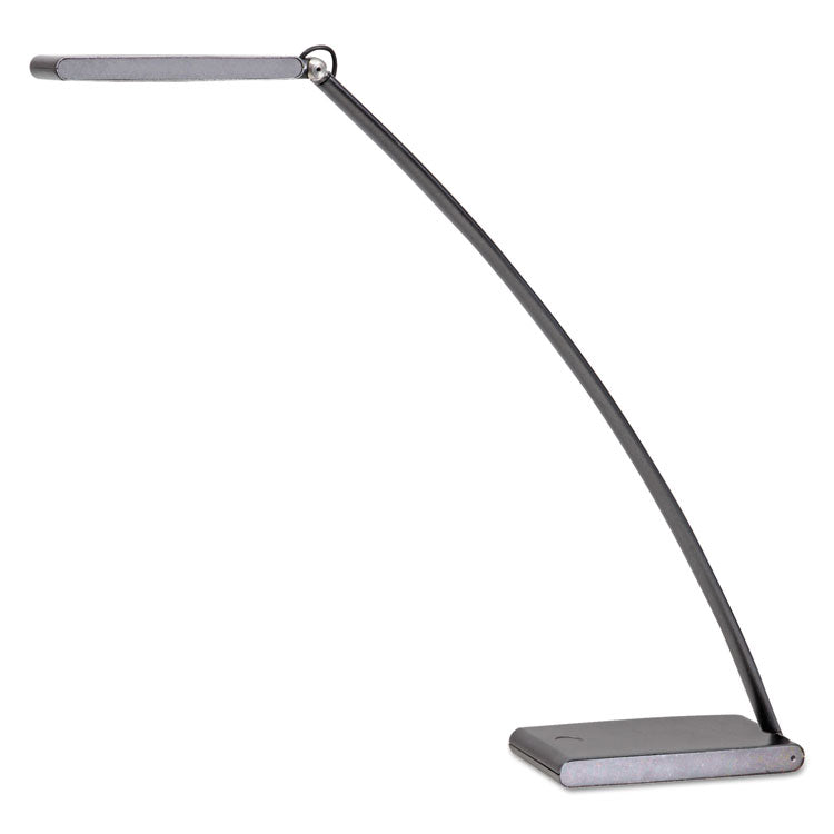 Led Touch Desk Lamp With Touch Dimmer, 2w X 21h, Dark Silver