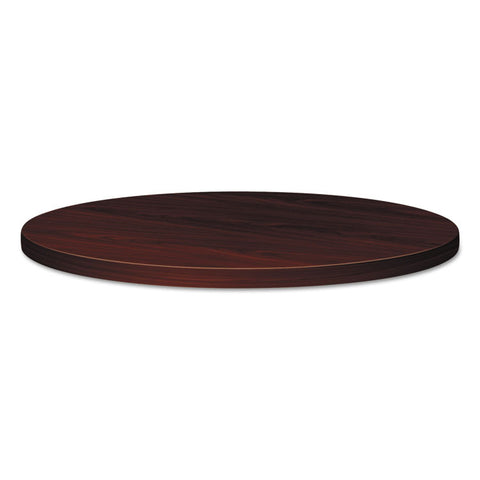 "94000 Series Round Table Top, 42"" Diameter, Mahogany"
