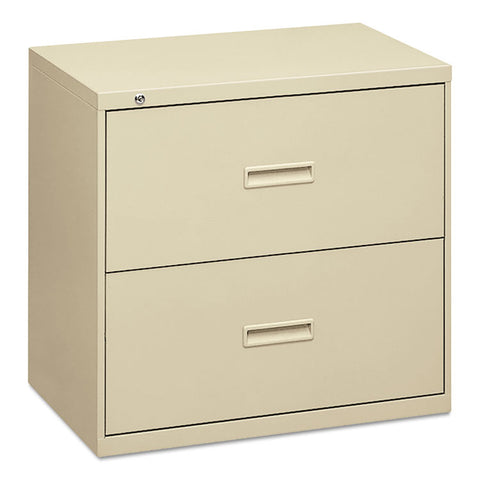 400 Series Two-Drawer Lateral File, 36w X 19-1/4d X 28-3/8h, Putty