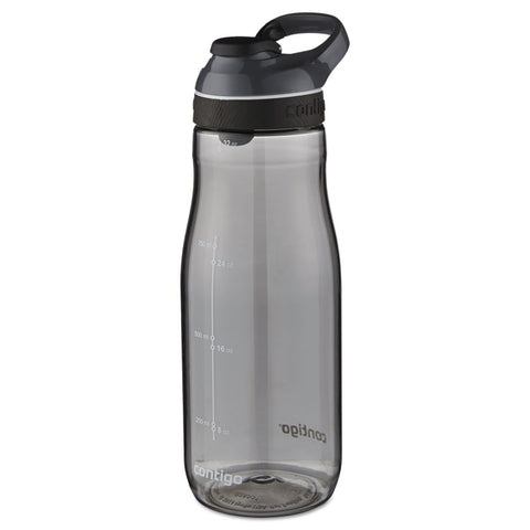 Cortland Autoseal Water Bottle, 32 Oz, Smoke, Plastic