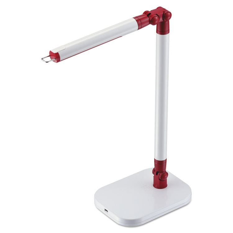 "Pureoptics Exalt Bar Led Bar Desk Light, 2 Prong, 19"", White"