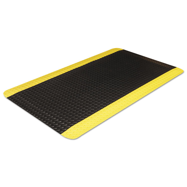 Workers-Delight Deck Plate, 36 X 60, Black/yellow