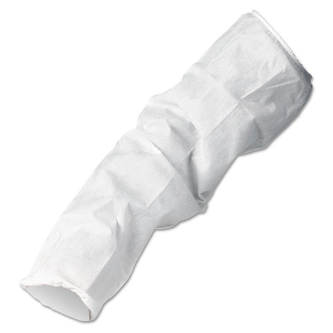 A10 Breathable Particle Protection Sleeve Protectors, 18 In., White, 200/carton