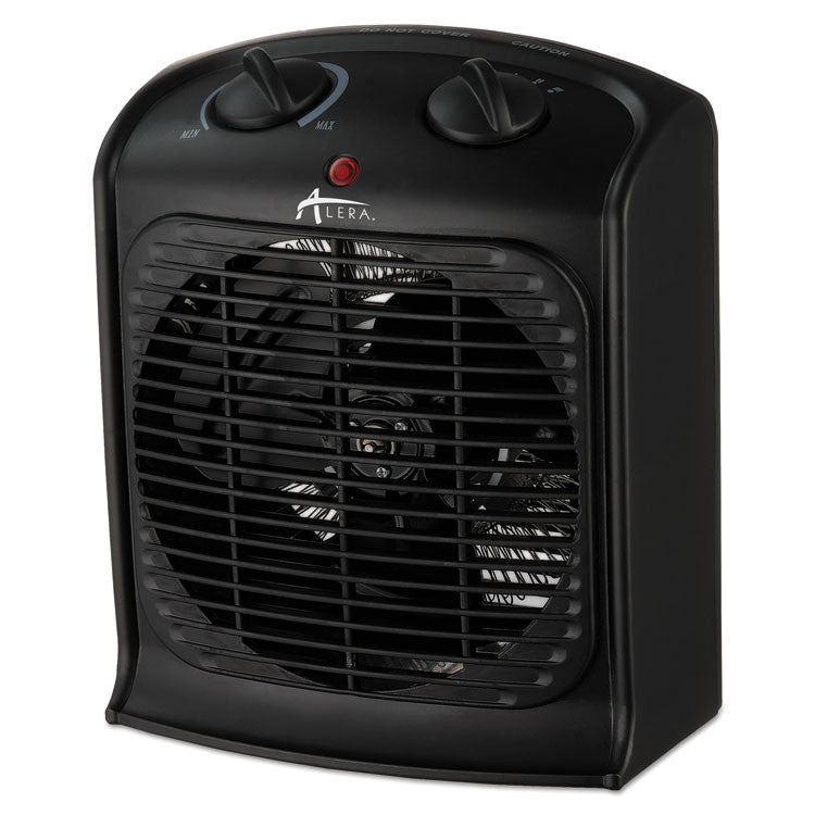 "Heater Fan, 8 1/4""w X 4 3/4""d X 9 3/4""h, Black"
