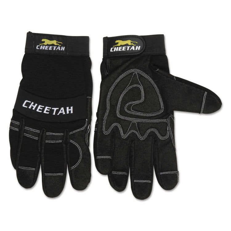 Cheetah 935ch Gloves, X-Large, Black