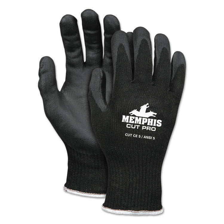 Cut Pro 92720nf Gloves, 2x-Large, Black, Hppe/nitrile Foam