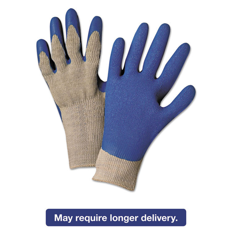 Latex Coated Gloves 6030, Gray/blue, X-Large