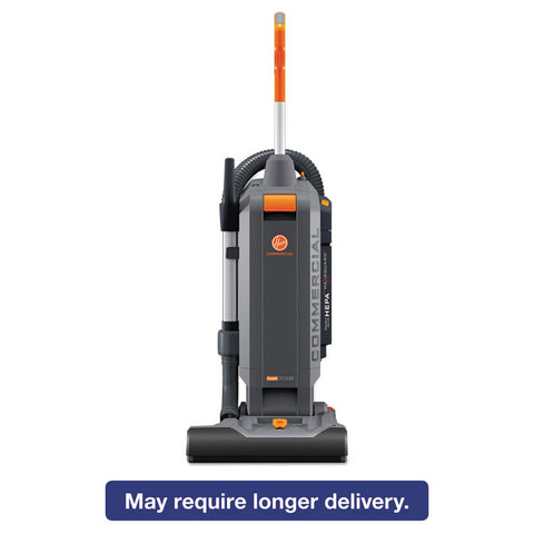 "Hushtone Vacuum Cleaner, 15"", Orange/gray"