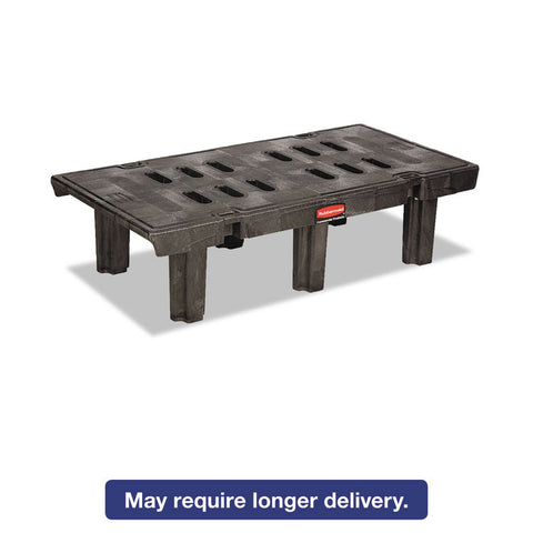 Dunnage Rack, 2000 Lbs, 48w X 24d X 12h, Duramold Resin/metal Composite