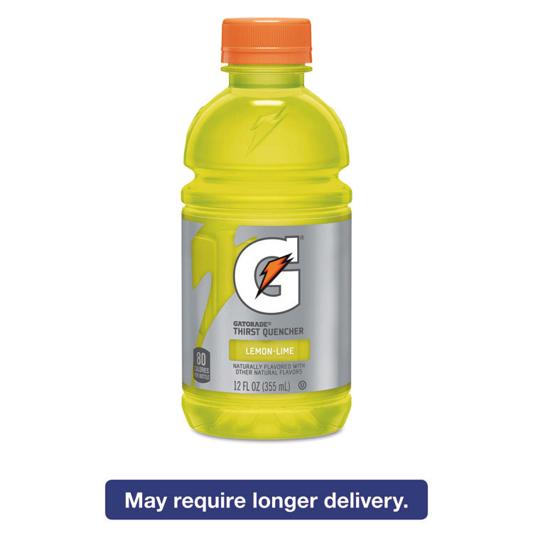 G-Series Perform 02 Thirst Quencher, Lemon-Lime, 12 Oz Bottle