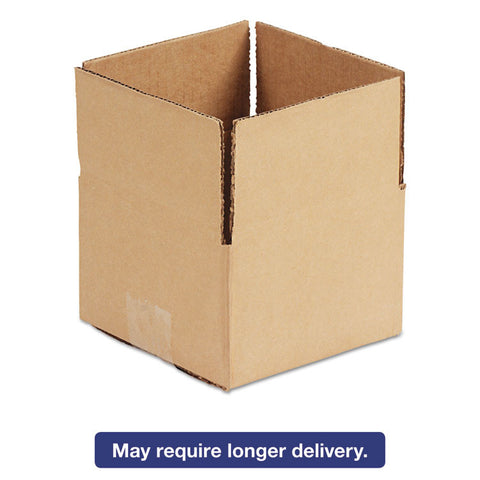 Brown Corrugated - Fixed-Depth Shipping Boxes, 10l X 10w X 3h, 25/bundle