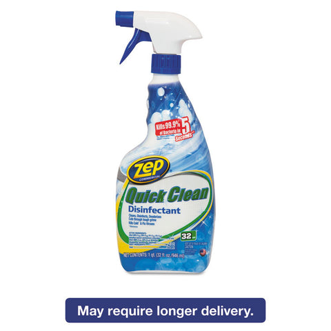 5 Second Quick Clean Disinfectant, 32 Oz Spray Bottle, 12/carton
