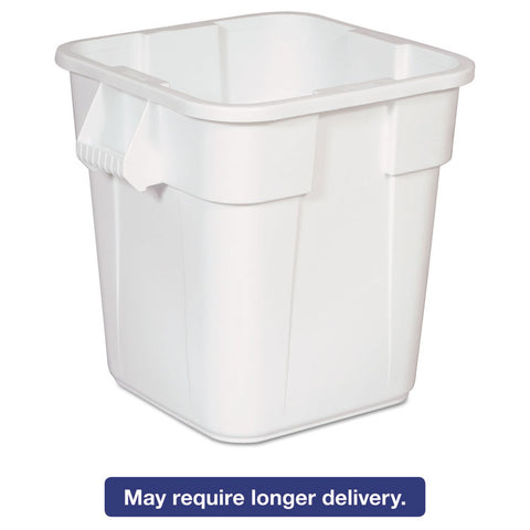 Brute Square Containers, 28 Gal, White
