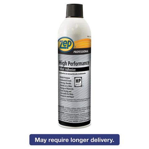 High Performance Mist Adhesive, 20 Oz, Aerosol, 12/carton