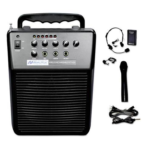 Mityvox Wireless Portable Pa System, 20w Amp