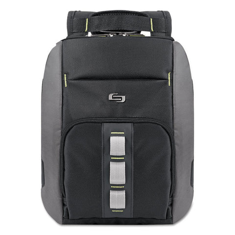Active Universal Tablet Sling, 10 3/4 X 3 1/2 X 13, Black/gray; Green Accents