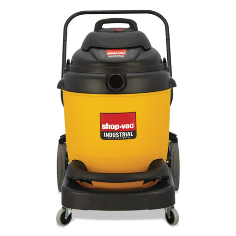Industrial Wet/dry Vacuum, 22gal, 2.5hp, Yellow/black
