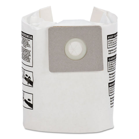Disposable Collection Filter Bags, Fits 2-2.5 Gallon Tanks, 3/pack
