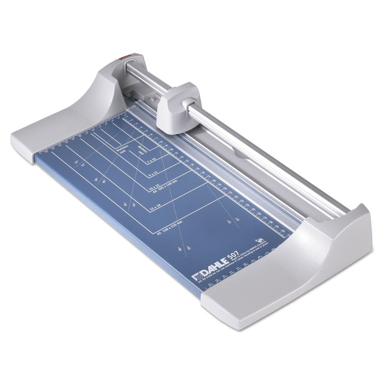 "Rolling/rotary Paper Trimmer/cutter, 7 Sheets, 12"" Cut Length"
