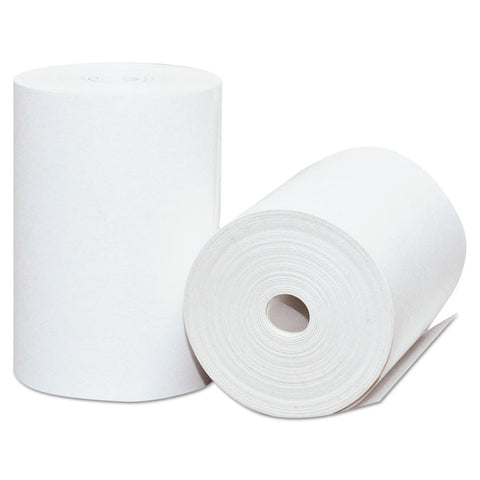 "Direct Thermal Printing Thermal Paper Rolls, 2 1/4"" X 75 Ft, White, 50/carton"